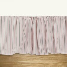 Trey Bella Storm Twill Ruffled Bed Skirt
