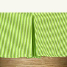 Desoto Chartreuse Pleated Bed Skirt