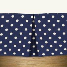 Ikat Dot Sunshine Pleated Bed Skirt