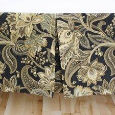 Valdosta Blackbird Pleated Bed Skirt