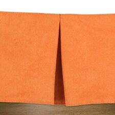 Slam Dunk Tangerine Pleated Bed Skirt