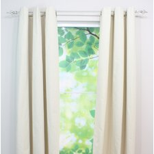 Linen Natural Single Curtain Panel