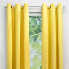 Solid Single Curtain Panel