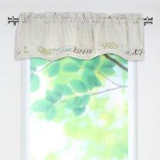 """Cotton Rod Pocket Tailored 54"""" Curtain Valance"""