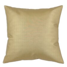 Shimmer Faux Leather Throw Pillow
