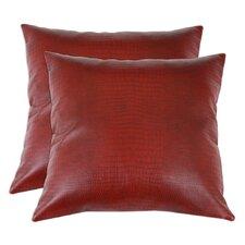 Tinga Rojo Throw Pillow (Set of 2)