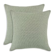 Burlap Throw Pillow (Set of 2)