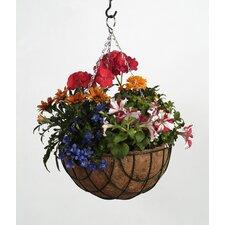 2-tlg. Rundes Blumenampel-Set
