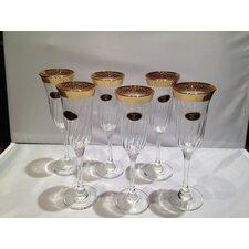 Rosa Key Champagne Flute (Set of 6)