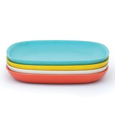 """Gusto 11"""" V2 Dinner Plate Set (Set of 4)"""