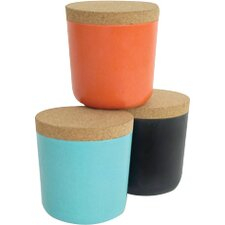 Gusto 15 Oz. Storage Jar (Set of 3)