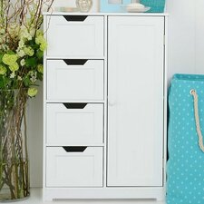Sennen 1 Door 4 Drawer Cabinet