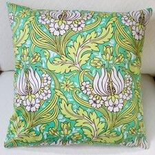 Tulips Indoor Sateen Cotton Throw Pillow