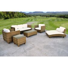 Sinatra 6 Piece Deep Seating Group With Cushion