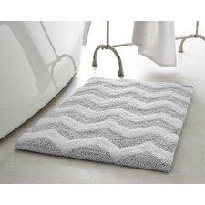 Zigzag Plush Bath Mat