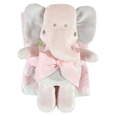 Blanket and Elephant Toy Set