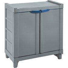 "28"" H x 25.8"" W x 15.7"" D Small Storage Cabinet"