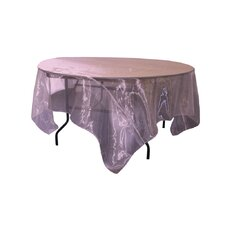 Sheer Orgnza Square Tablecloth