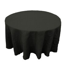 Round Dyed Burlap Tablecloth
