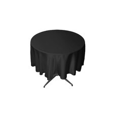 Bridal Satin Round Tablecloth