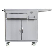 Outdoor Party Grill Cart
