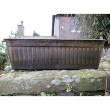 Floral Fluted Trough Planter