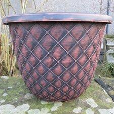 Bell Quilt Round Planter
