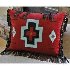 Turquoise Chamarro Cross Pillow