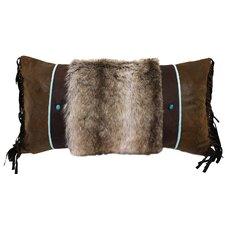 Saguaro Desert Fur Lumbar Pillow