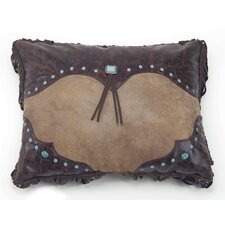 Canyon View Western Curved Corner Lumbar Pillow