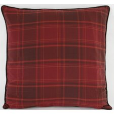 Sagamore Lake Plaid Euro Sham