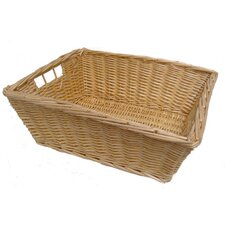 Deep Wicker Packing Tray