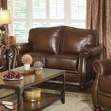 Chesbrough Leather Loveseat