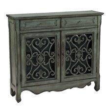 Jamison 2 Drawer 2 Door Cabinet