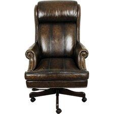 Lynton High-Back Leather Executive Office Chair