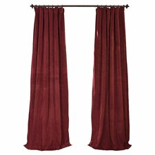 Beesley Velvet Blackout Single Curtain Panel