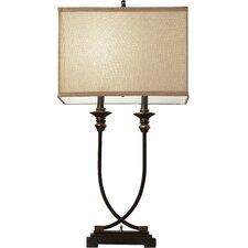 "Carnlea Metal and Resin 31.5"" H Table Lamp"