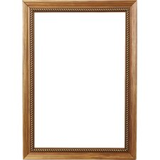 "2.13"" Wide Painted Ornate Wood Grain Picture Frame"