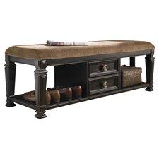 Nimmons Wood Storage Bedroom Bench