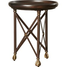 Henryson Round X End Table