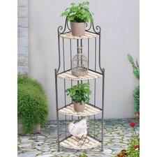 Elvia Corner Shelf Plant Stand