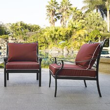 Hellam Arm Chair with Cushion (Set of 2)