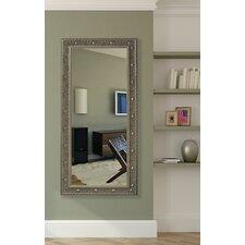 Opulent Silver Floor Mirror