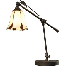 """Rickard Mini 19"""" H Table Lamp with Bell Shade"""