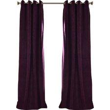 Beesley Velvet Blackout Single Curtain Panel