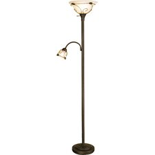 "Mcelhannon 71"" Torchiere Floor Lamp"