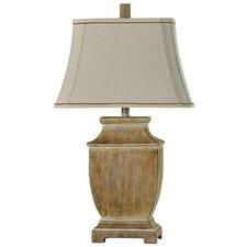 "Levitt Faux Wood 29"" Table Lamp"