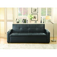 Northfields Elegant Lounger With Pull-Up Trundle Sleeper Sofa