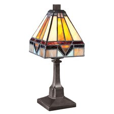 "Doughty 11.5"" H Table Lamp with Square Shade"