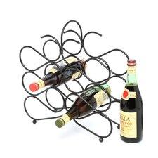 Scroll 12 Bottle Tabletop Wine Rack